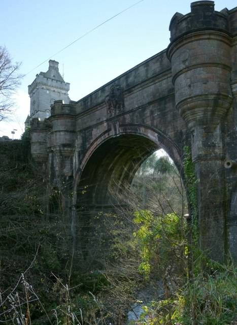 Overtoun Bridge From Below
