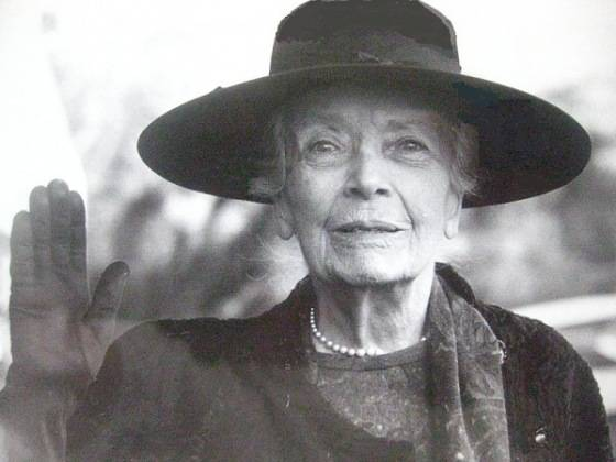 Portrait Of Older Alice Lee Roosevelt Longworth