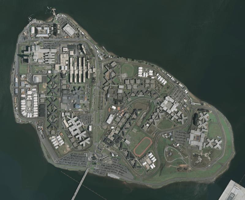 Rikers Island Aerial Photo