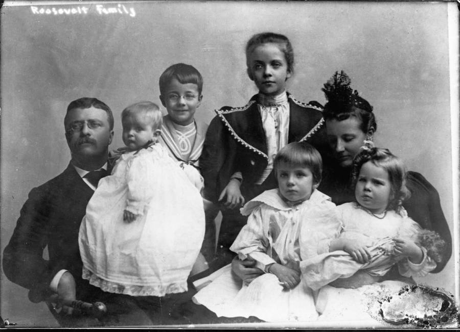 Roosevelt Family Portrait