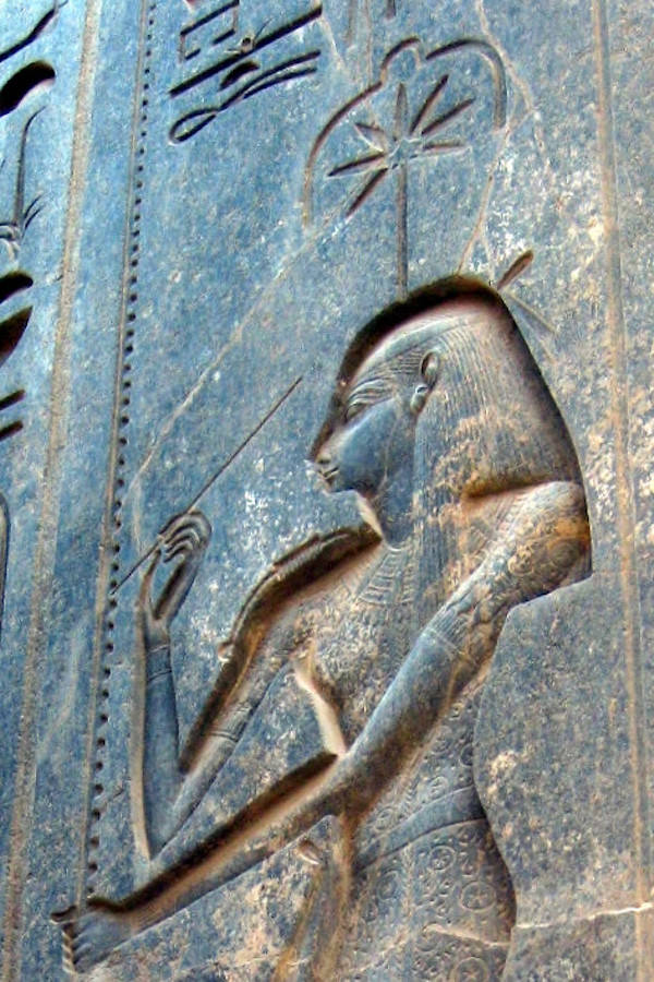 Seshat Ancient Egyptian Goddess