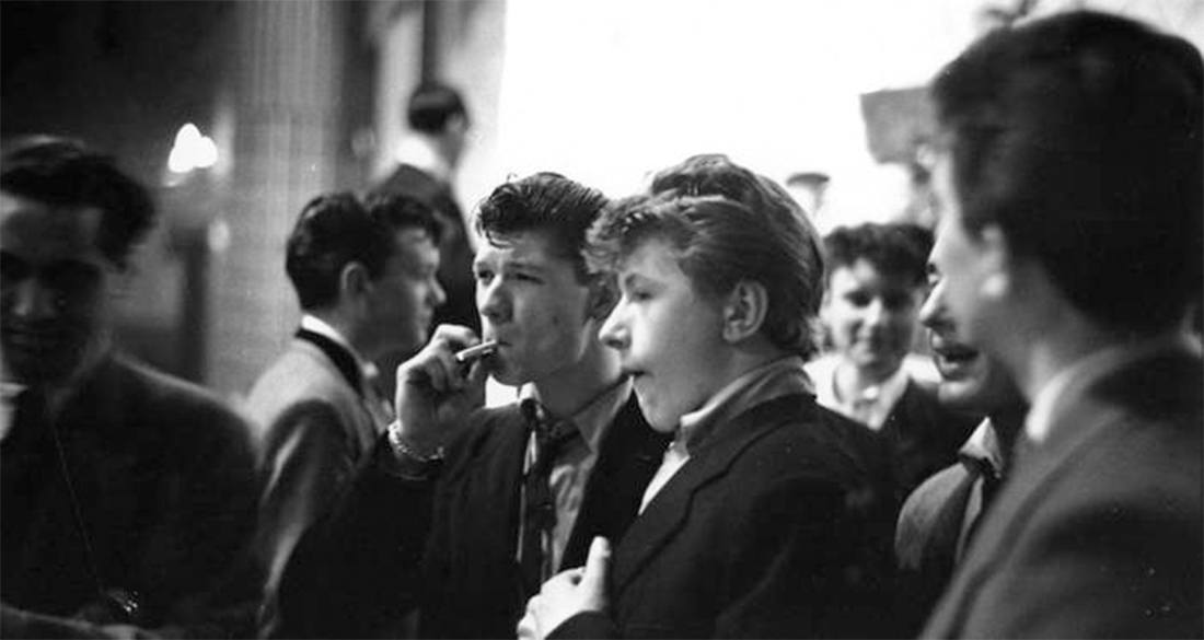 Astounding Teddy Boy Terror The British Subculture That Invented Teen Angst Natural Hairstyles Runnerswayorg