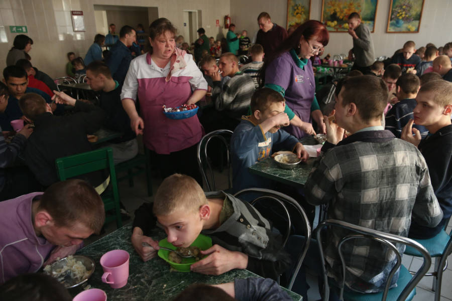 Vesnova Home For Invalid Children Cafeteria