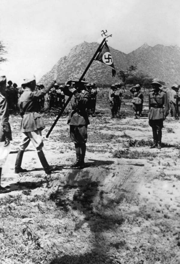 Wwii Nazis In Africa