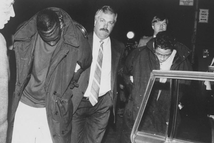 Yusef Salaam In Handcuffs