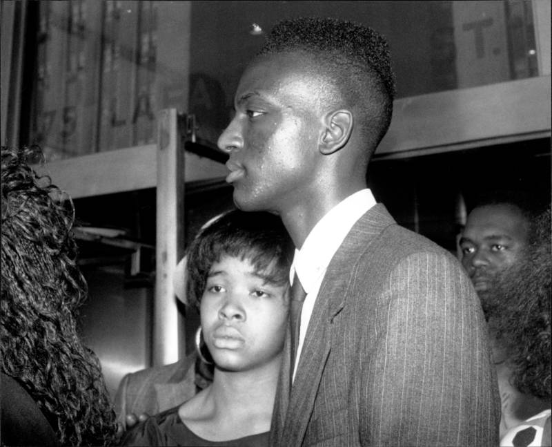 Yusef Salaam Of The Central Park Five Leaves Court