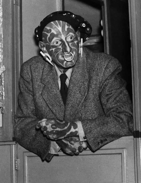 Zebra Man Horace Ridler
