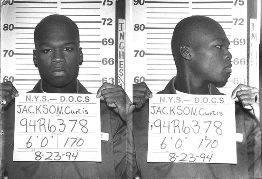 50 Cent Mugshot In 1994