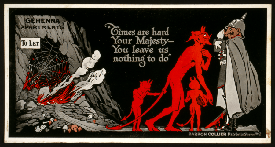 Anti-German Propaganda From World War I