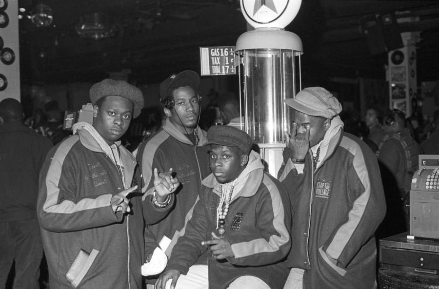 A Tribe Called Quest Posing In New York