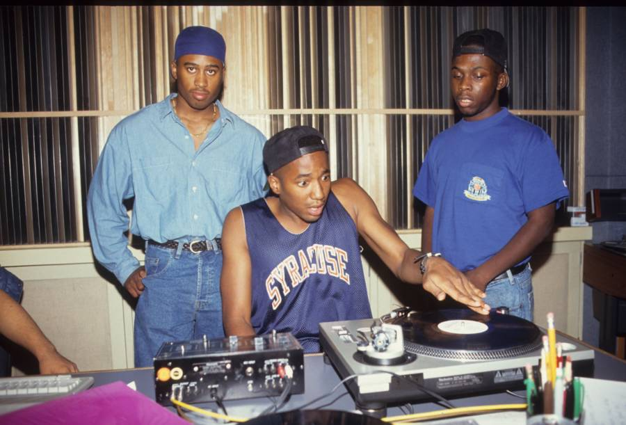 A Tribe Called Quest Playing Music