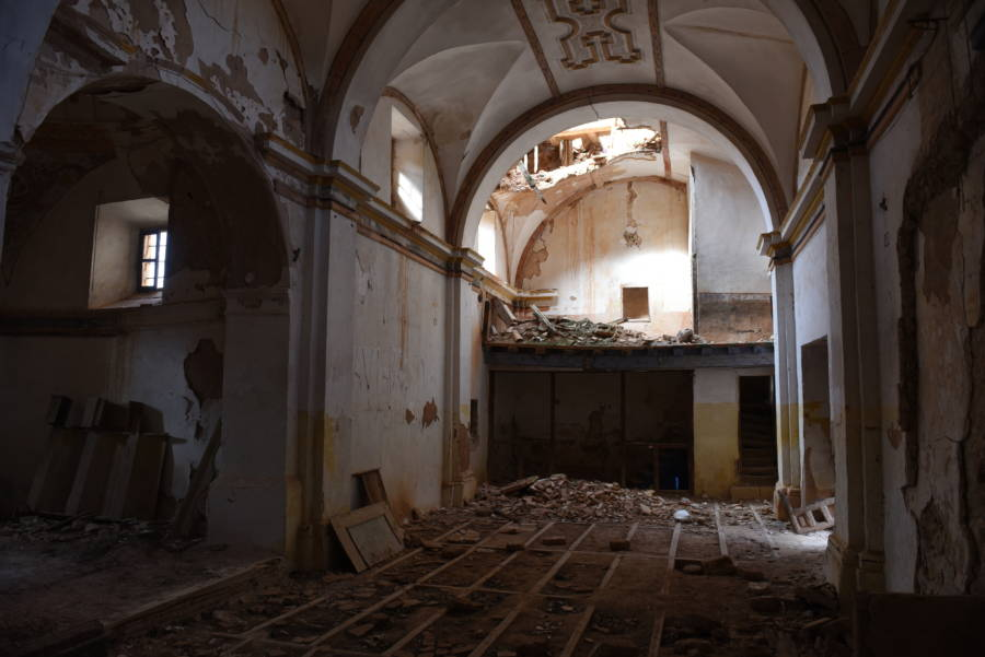 Abandoned Arch Ceiling