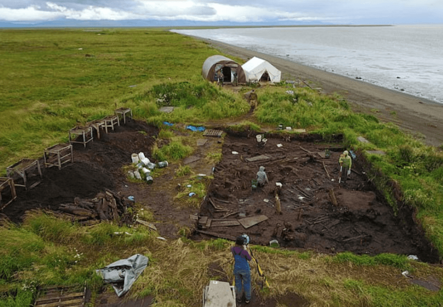 Alaska Massacre Excavation Site