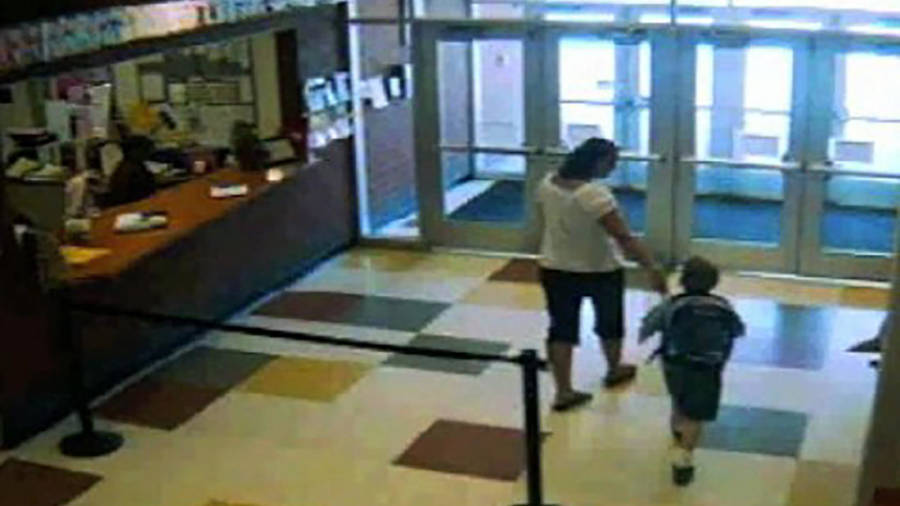 School Surveillance Image