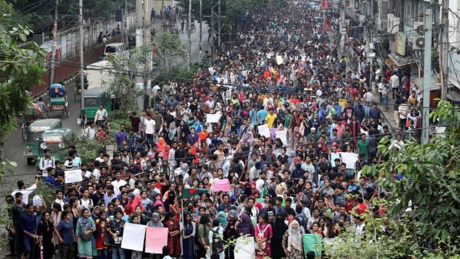 Bangladesh Protests After Nusrat Rafi's Death
