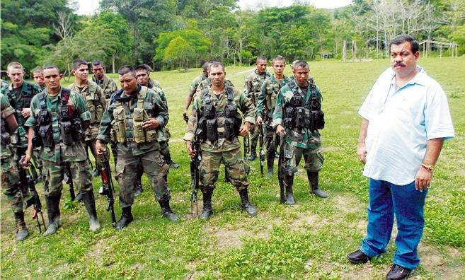 Berna With Defense Forces Of Columbia