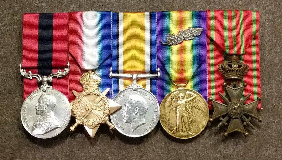 Billy Sing Medals