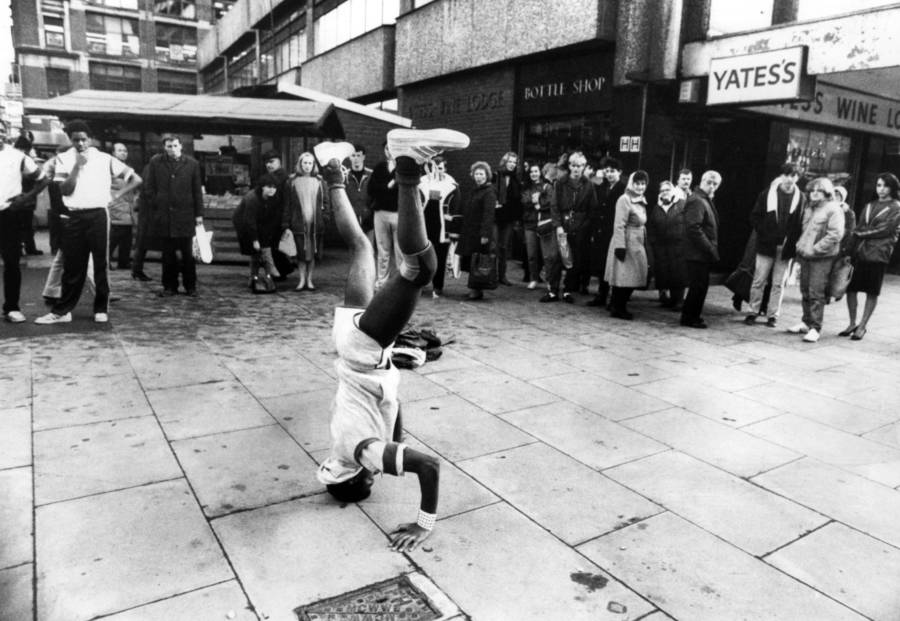 Breakdacing In Manchester England 1984