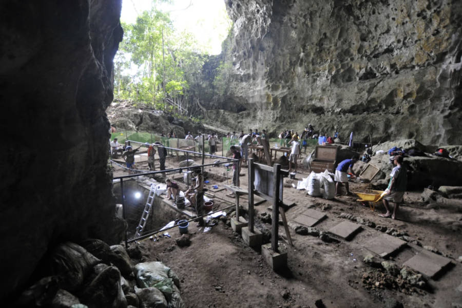 Callao Cave Excavations