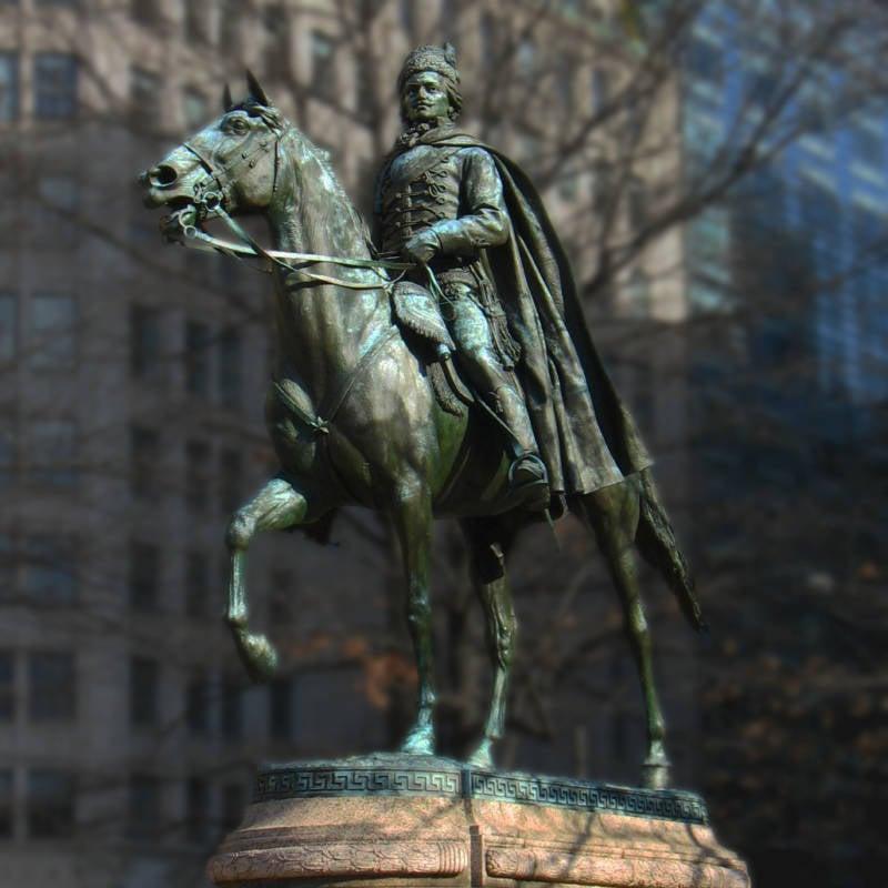 Casimir Pulaski Statue