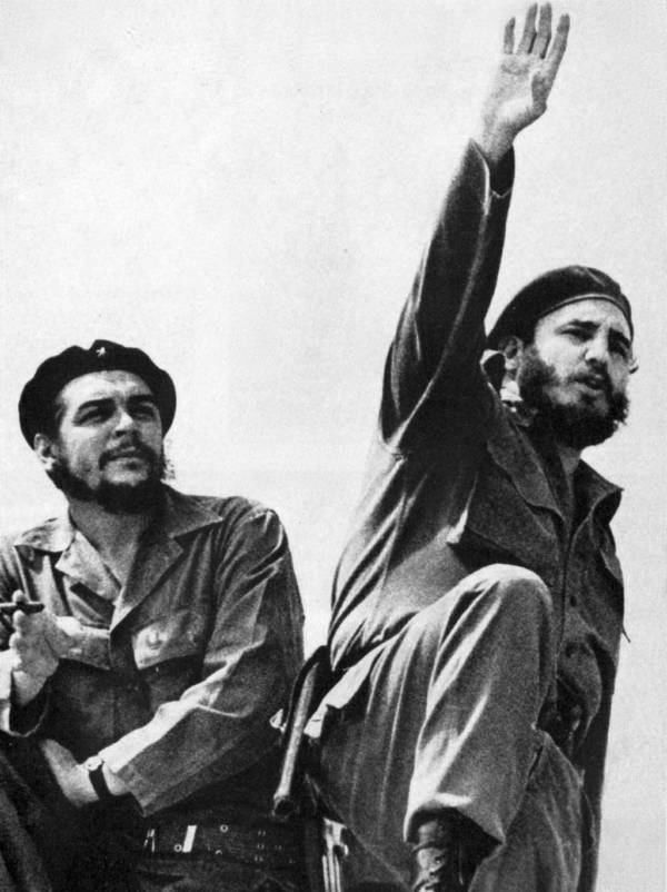 Che And Castro Of The Cuban Revolution
