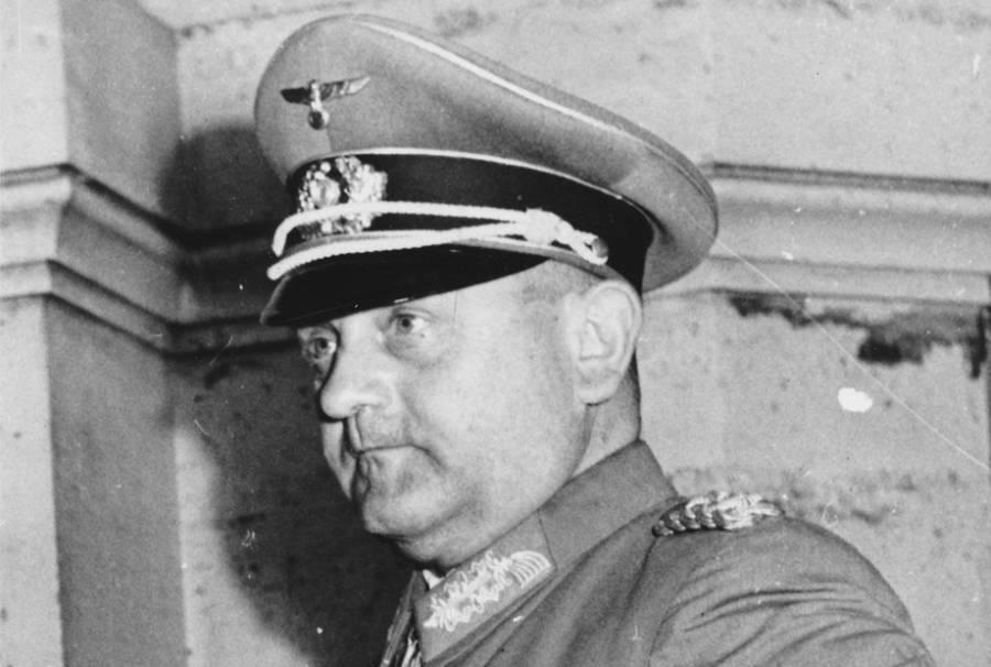 Dietrich Von Choltitz Portrait