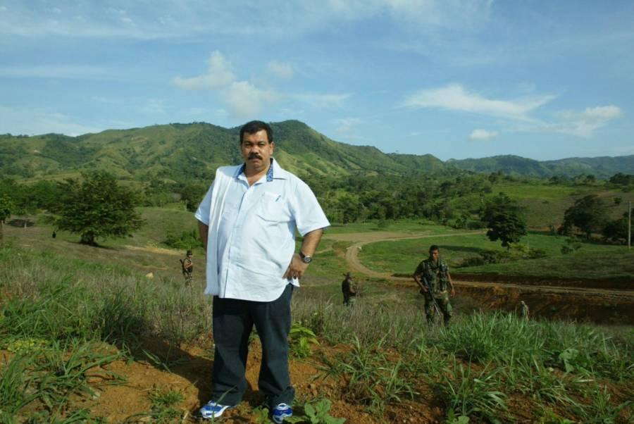 Don Berna In A Field