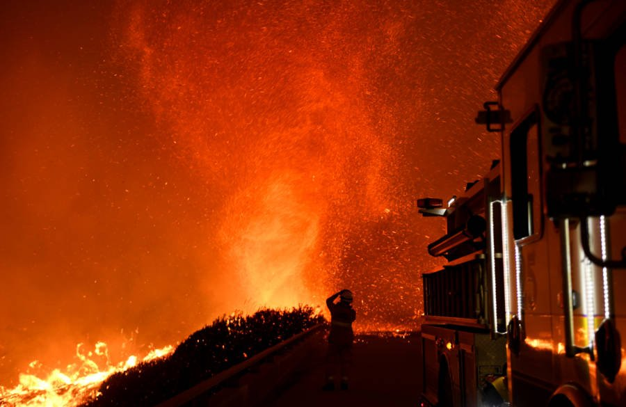 Fire Whirl In California