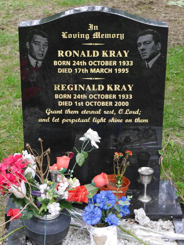 Grave Of Ronnie And Reggie Kray