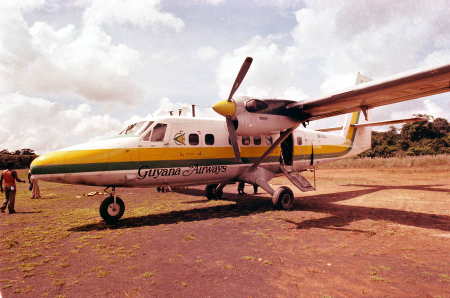 Guyana Airways Plane