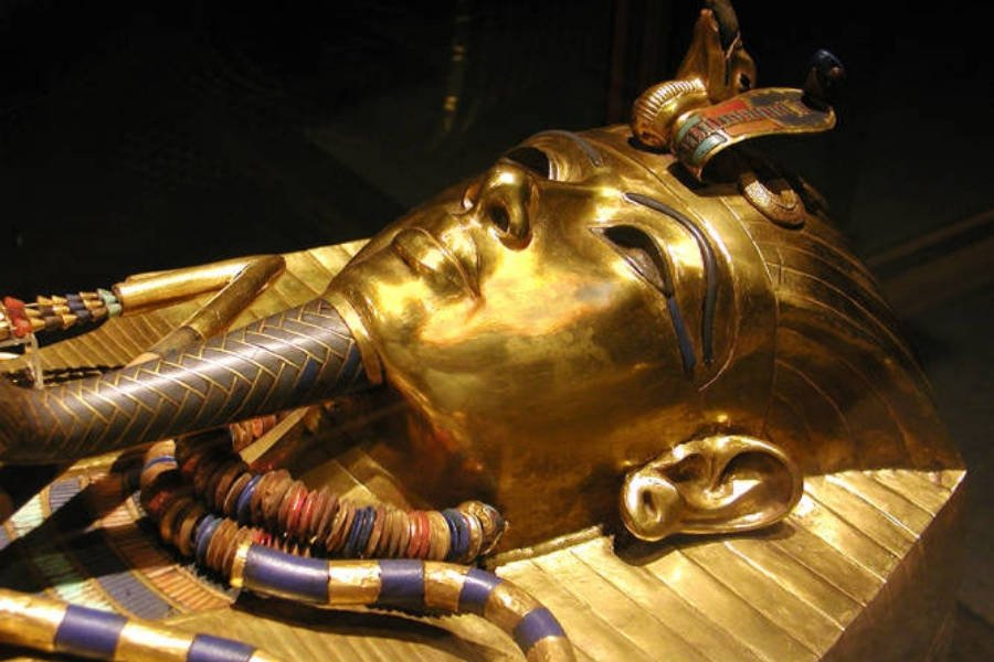 Discovery Of King Tut's Sarcophagus By Howard Carter