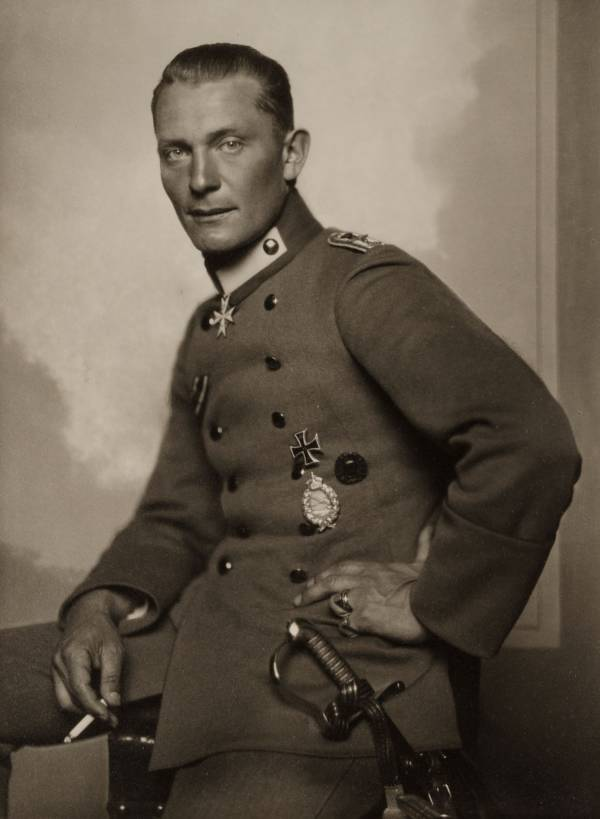 Hermann Göring First World War Pilot Photo