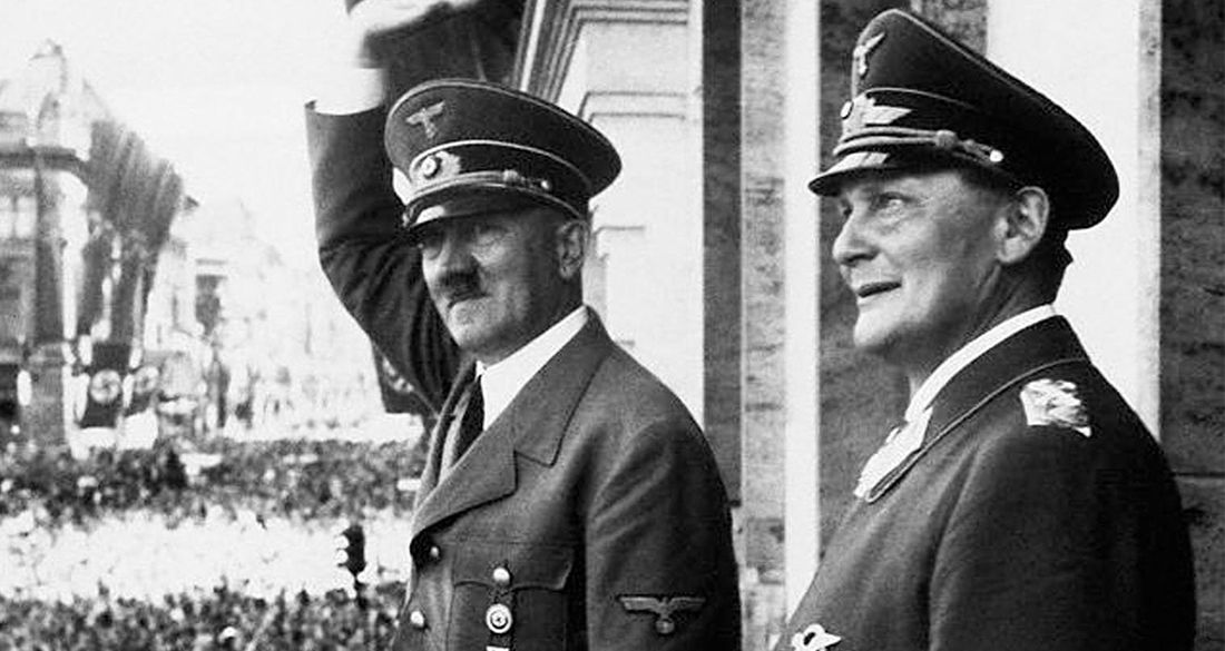 Hermann Göring, Hitler's Overweight And Drug-Addicted Right