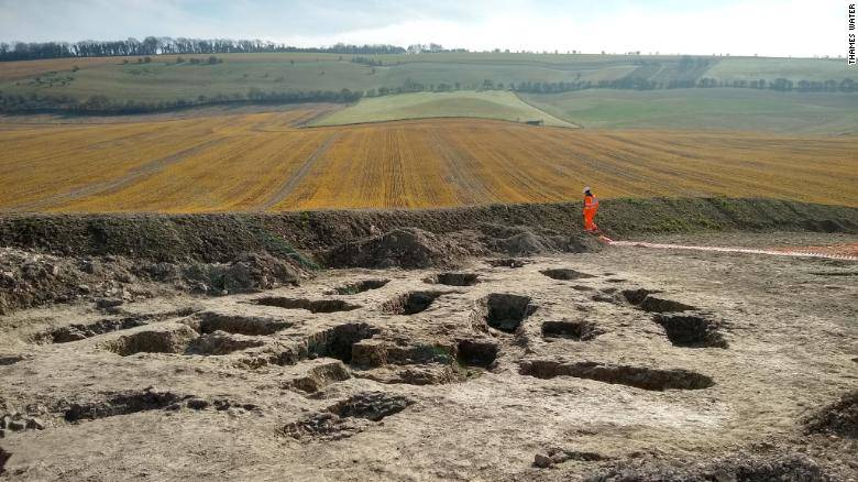 Oxfordshire Dig Site