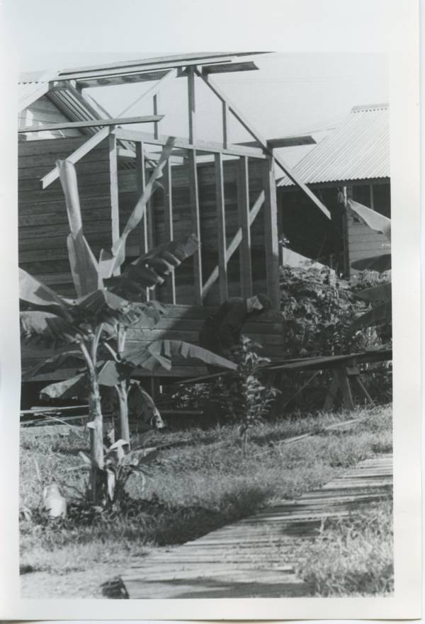 Jonestown Guyana 1978 House Being Built