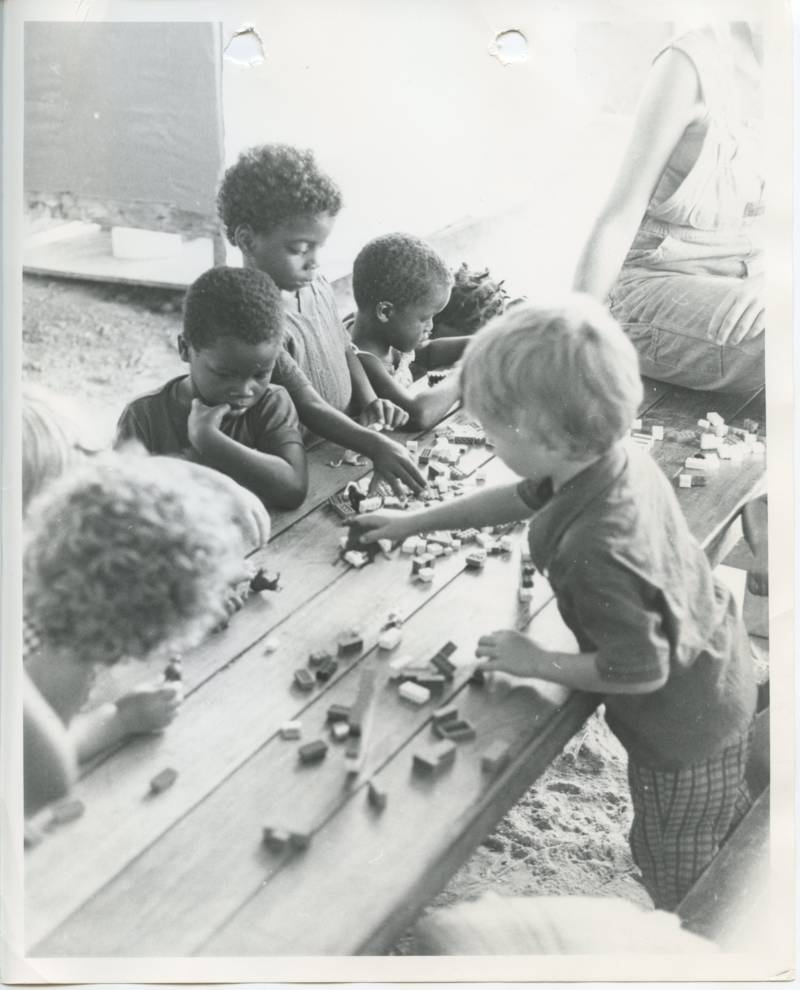 Jonestown Guyana 1978 Kids Playing Together