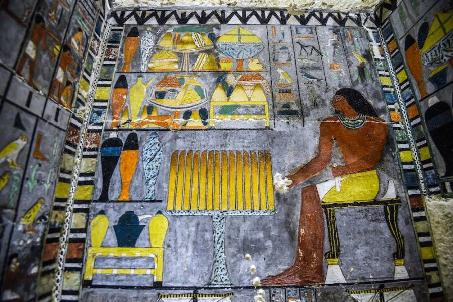 Ancient Egypt Tomb Art