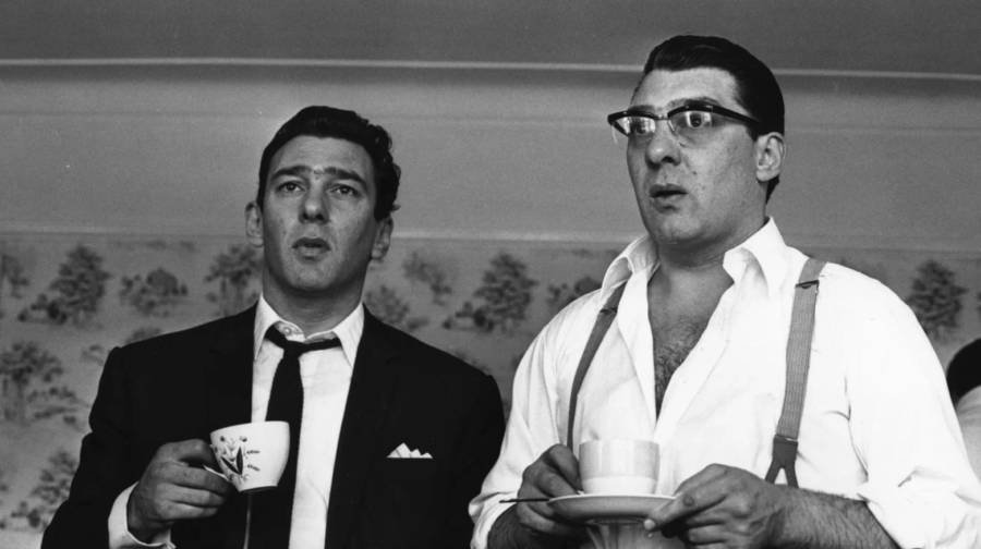 Kray Twins Portrait
