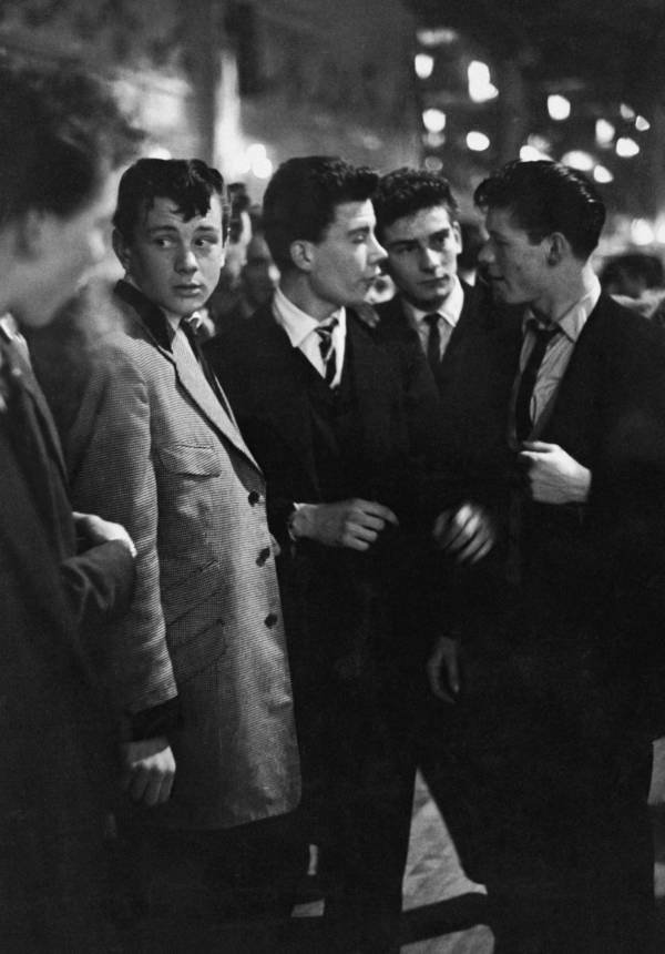 Tremendous Teddy Boy Terror The British Subculture That Invented Teen Angst Natural Hairstyles Runnerswayorg
