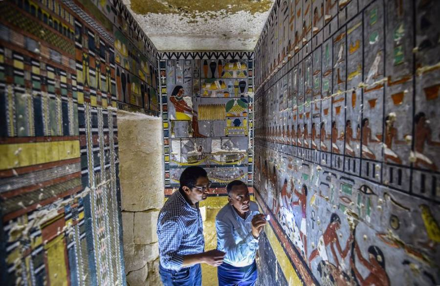 Ancient Egyptian Tomb From Fifth Dynasty