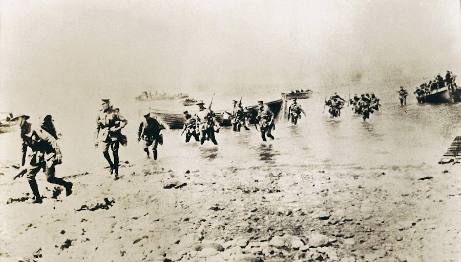 New Zealand Forces In Gallipoli