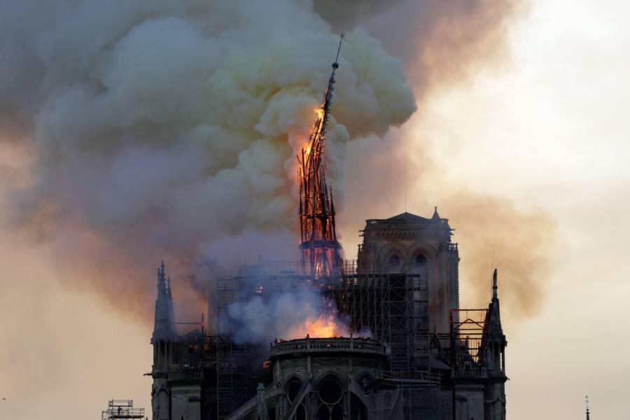 Notre Dame Steeple Spire
