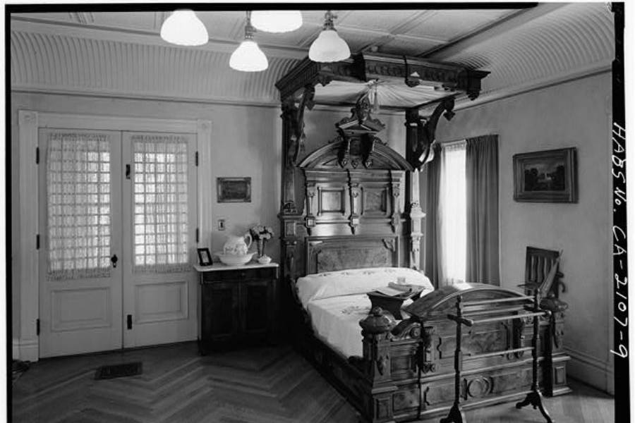 Bedroom In The Winchester Mystery House
