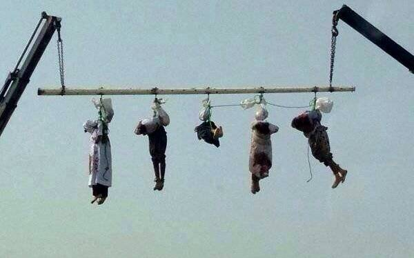 Crucifixion In Saudi Arabia