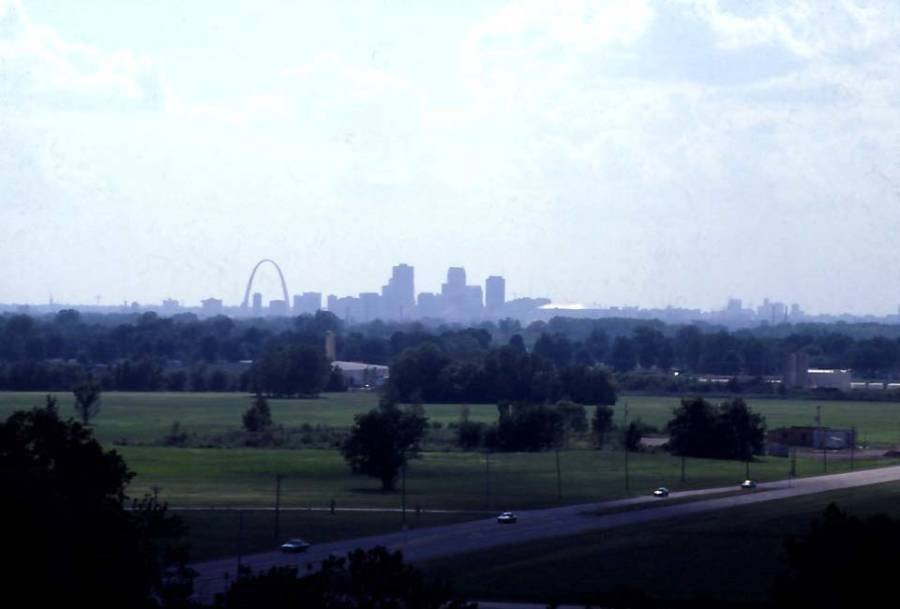 St Louis From Monks Mound