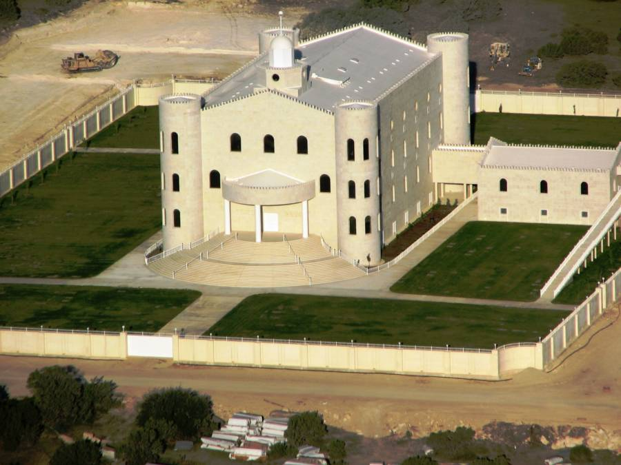 Temple Of Fundamentalist Mormons Flds In Texas
