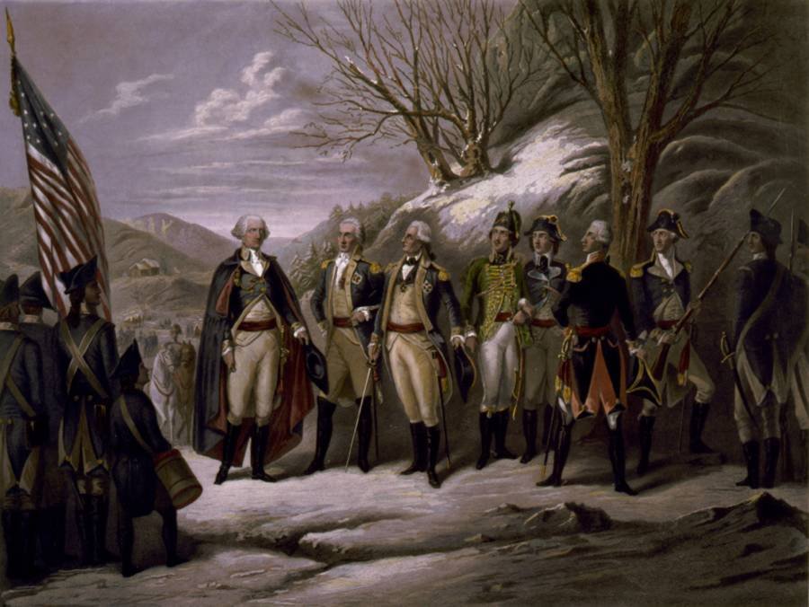 The Generals Of The Revolutionary War