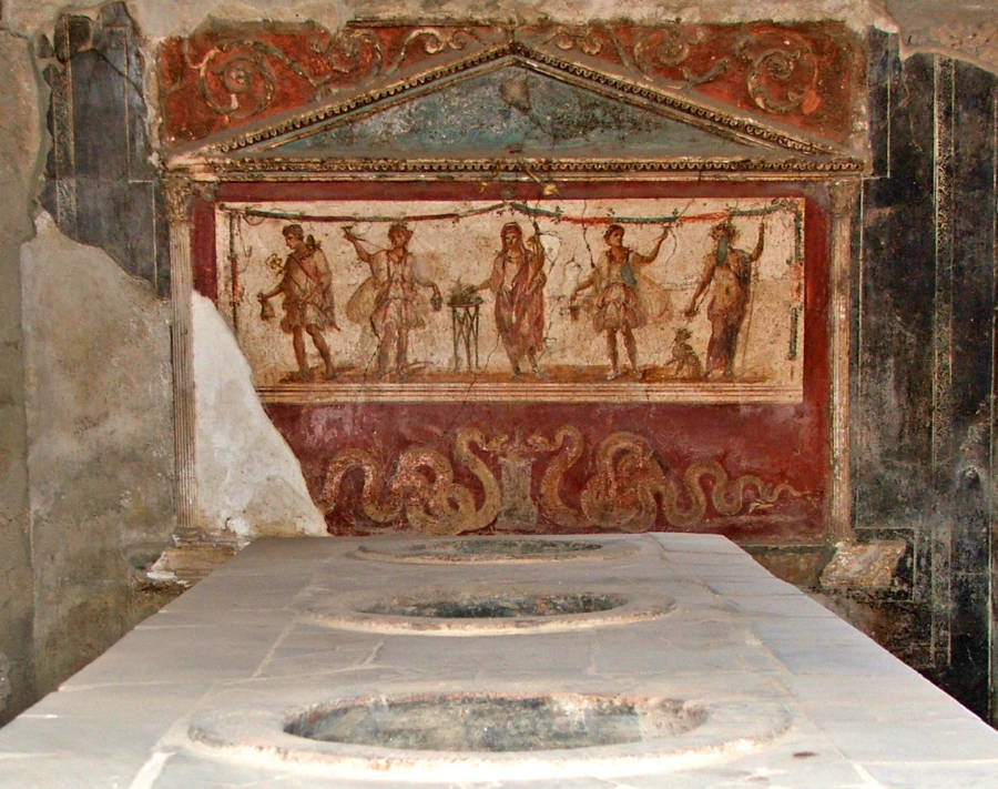 Thermopolium With Doliass Pompeii