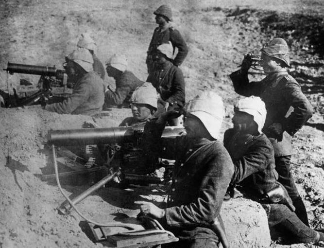 Turkish Soldiers In Gallipoli