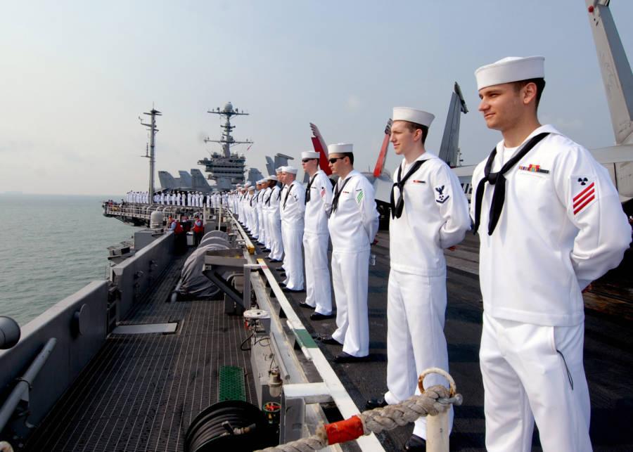 Marinheiros da Marinha dos EUA